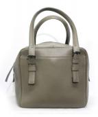 土屋鞄(ツチヤカバン)の古着「クラルテフリーミニボストンバッグ」|グレー