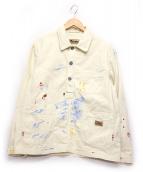 LYBRO(ライブロ)の古着「ポーデッキジャケット」|アイボリー