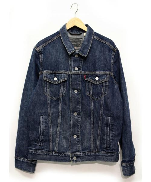 LEVIS(リーバイス)LEVIS (リーバイス) デニムジャケット インディゴ サイズ:L GOOGLE JACQUARD 付属品 参考定価25.000円+税の古着・服飾アイテム