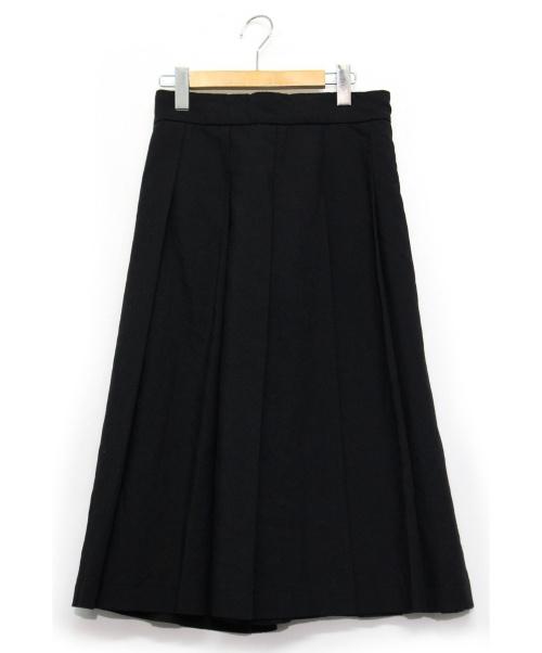 COMME des GARCONS COMME des GARCONS(コムデギャルソンコムデギャルソン)COMME des GARCONS COMME des GARCONS (コムデギャルソンコムデギャルソン) タックスカート ブラック サイズ:S AD2005の古着・服飾アイテム