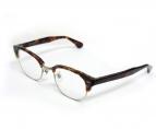 KANEKO OPTICAL(金子眼鏡)の古着「伊達眼鏡」|ブラウン