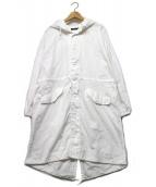 STUNNING LURE(スタニングルアー)の古着「スノーカモパーカ」|ホワイト