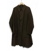 STEVEN ALAN(スティーヴンアラン)の古着「バルカラーコート」|ブラウン