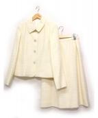 LEILIAN(レリアン)の古着「セットアップスーツ」 アイボリー