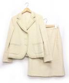 LEILIAN(レリアン)の古着「セットアップスーツ」|アイボリー