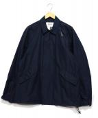 WISLOM(ウィスロム)の古着「ジップアップジャケット」|ネイビー