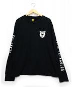 HUMAN MADE(ヒューマンメイド)の古着「ロングスリーブカットソー」|ブラック