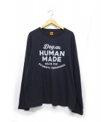 HUMAN MADE(ヒューマンメイド)の古着「ロングスリーブカットソー」|グレー