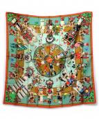 HERMES(エルメス)の古着「シルクスカーフ」|マルチカラー