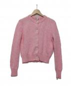 agnes b(アニエスベー)の古着「カーディガン」|ピンク