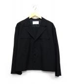 ASTRAET(アストラット)の古着「テーラードカラージャケット」|ブラック