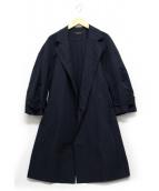 SACRA(サクラ)の古着「羽織コート」|ネイビー