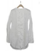 JULIUS(ユリウス)の古着「ロングシャツ」 ホワイト