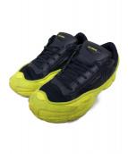 adidas×RAF SIMONS(アディダス×ラフシモンズ)の古着「スニーカー」|ブラック×イエロー