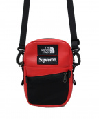SUPREME×THE NORTH FACE()の古着「Leather Shoulder Bag」|レッド