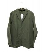 DESCENTE(デサント)の古着「ナイロンジャケット」|オリーブ