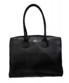 FURLA(フルラ)の古着「アルバレザートートバッグ」|ブラック