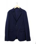 COMME CA MEN(コムサメン)の古着「テーラードジャケット」|ネイビー