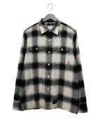 WTAPS(ダブルタップス)の古着「ネルシャツ」|ブラック