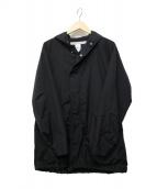 EEL(イール)の古着「ドレープコート」 ブラック