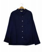 GAIJIN MADE(ガイジンメイド)の古着「オープンカラーシャツ」|ネイビー