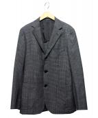 UNITED ARROWS(ユナイテッドアローズ)の古着「UDET マイクロチェック 3B コンフォートジャケット」|グレー