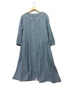 Jocomomola(ホコモモラ)の古着「ワンピース」 ネイビー