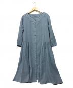 Jocomomola(ホコモモラ)の古着「ワンピース」|ネイビー