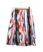 Jean Paul GAULTIER(ジャンポールゴルチェ)の古着「メジャーテープ柄スカート」|マルチカラー