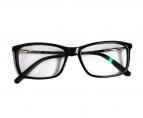 MONTBLANC(モンブラン)の古着「伊達眼鏡」|ブラック