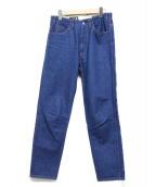 WESTOVERALLS(ウエストオーバーオールズ)の古着「806Tデニムテーパードパンツ」|インディゴ