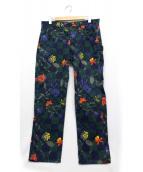 BRU NA BOINNE(ブルーナボイン)の古着「総柄パンツ」|マルチカラー