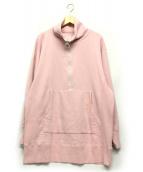 THE SHINZONE(ザ シンゾーン)の古着「ハーフジップ」|ピンク