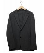 TOMORROW LAND(トゥモローランド)の古着「アンコンテーラードジャケット」|グレー