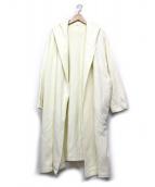 Plage(プラージュ)の古着「裏毛コート」 アイボリー