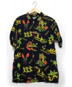 Sun Surf(サンサーフ)の古着「アロハシャツ」 ブラック