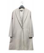 LAUTRE AMONT(ロートレアモン)の古着「カルゼジャージコート」|ベージュ