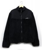 WILD THINGS(ワイルドシングス)の古着「フリースジャケット」 ブラック