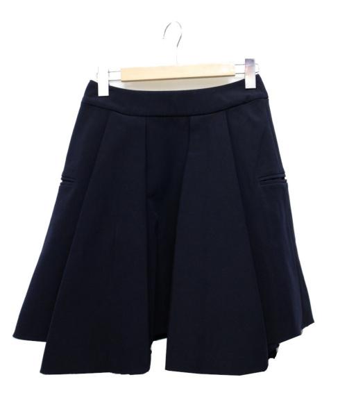 CINOH(チノ)CINOH (チノ) ダブルボックスプリーツスカート ネイビー サイズ:38の古着・服飾アイテム
