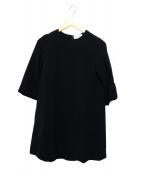 J&M DAVIDSON(ジェイエムデビッドソン)の古着「バルーンチュニックワンピース」|ブラック