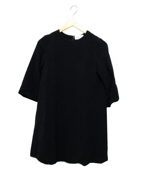 J&M DAVIDSON(ジェイ&エム デヴィッドソン)J&M DAVIDSON (ジェイエムデビッドソン) バルーンチュニックワンピース ブラック サイズ:10の古着・服飾アイテム
