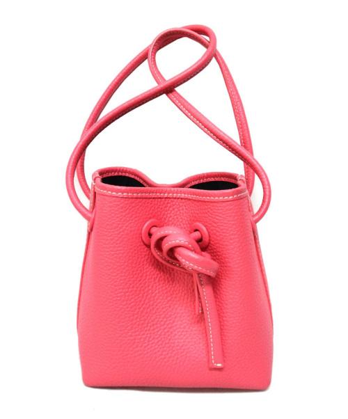 VASIC(ヴァジック)VASIC (ヴァジック) 巾着バッグ ピンク サイズ:-  TOMOROW LAND別注カラーの古着・服飾アイテム