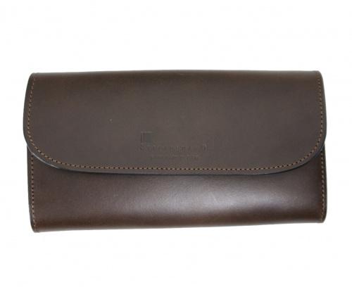 STEFANOMANO(ステファノマーノ)STEFANOMANO (ステファノマーノ) レザー長財布 ブラウン サイズ:-の古着・服飾アイテム