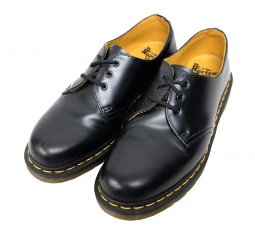 Dr.Martens(ドクターマーチン)Dr.Martens (ドクターマーチン) 3HOLE BOOTS ブラック サイズ:UK8 1641 AW006の古着・服飾アイテム