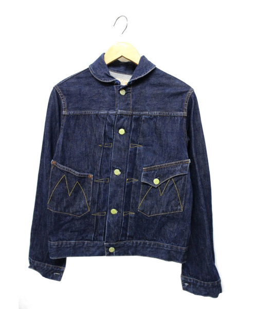 Mr.FREEDOM(ミスターフリーダム)Mr.FREEDOM (ミスターフリーダム) Ranch Blouseデニムジャケット インディゴ サイズ:36の古着・服飾アイテム