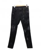 Ksubi(スビ)の古着「加工デザインパンツ」 ブラック