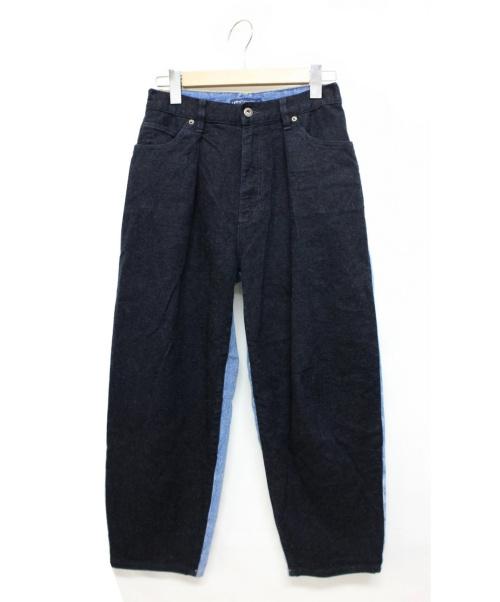 LEVIS MADE&CRAFTED(リーバイス メイドアンドクラフテッド)LEVIS MADE&CRAFTED (リーバイス メイドアンドクラフテッド) バレルトラウザーデニムパンツ インディゴ サイズ:W26の古着・服飾アイテム