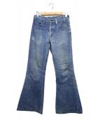 LEVIS(リーバイス)の古着「[古着]70'Sベルボトム デニム パンツ」|インディゴ