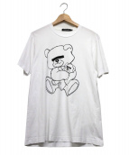 UNDERCOVER(アンダーカバー)の古着「BEAR プリントTシャツ」|ホワイト