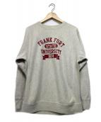 GOOD ROCK SPEED(グッドロックスピード)の古着「カレッジプリントスウェット」|グレー